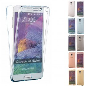 360 heltäckande silikon skal Galaxy Note 4