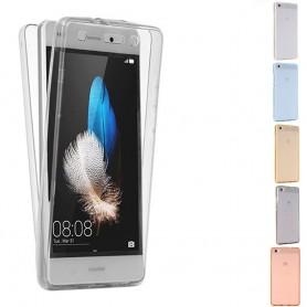 360 heltäckande silikon skal Huawei P8 Lite