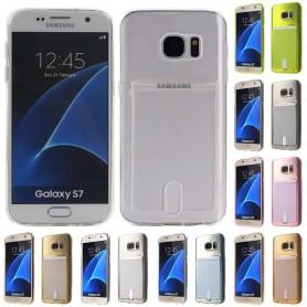 Silikon skal med kortplats Galaxy S7