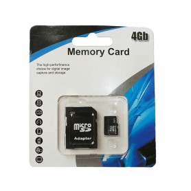 4Gb Micro SD minneskort