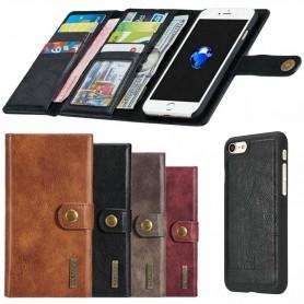 Multiplånbok Tri-Fold 12 kort iPhone 7 / 8 mobilskal fodral