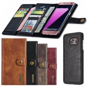 Multiplånbok Tri-Fold 12 kort Galaxy S7 Edge