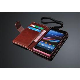 Mobilplånbok 2-kort Sony Xperia Z2 Compact