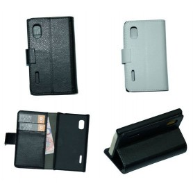 Mobilplånbok 2-kort LG Optimus L5 (E610)