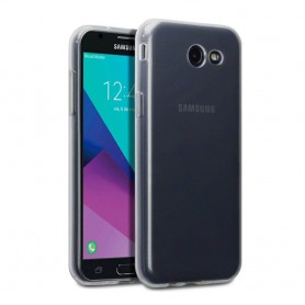 Galaxy J3 2017 Silikon skal Transparent