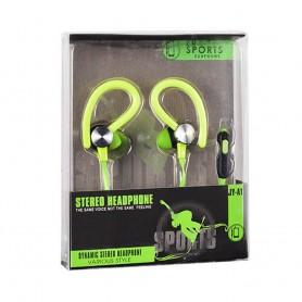 Sport headset med mic - Grön