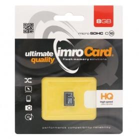 IMRO Micro SDHC Minneskort 8Gb Klass 10