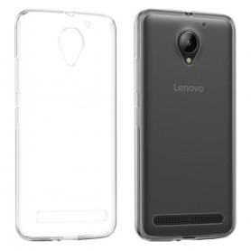 Lenovo Vibe C2 Silikon skal Transparent