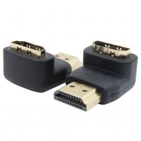 90 degree HDMI male-female HD 1080 p