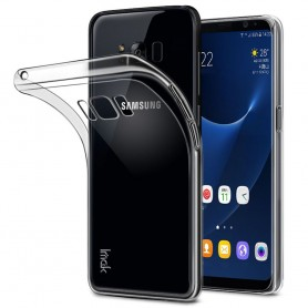 Samsung Galaxy S8 Plus IMAK silikon skal transparent