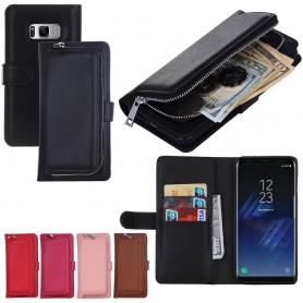 Mobilplånbok 2i1 myntfack Samsung  Galaxy S8