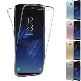 360 heltäckande silikon skal Galaxy S8 Plus