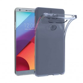 LG G6 silikon skal transparent