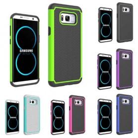Heavy Duty 2i1 silikon skal Samsung Galaxy S8 Plus