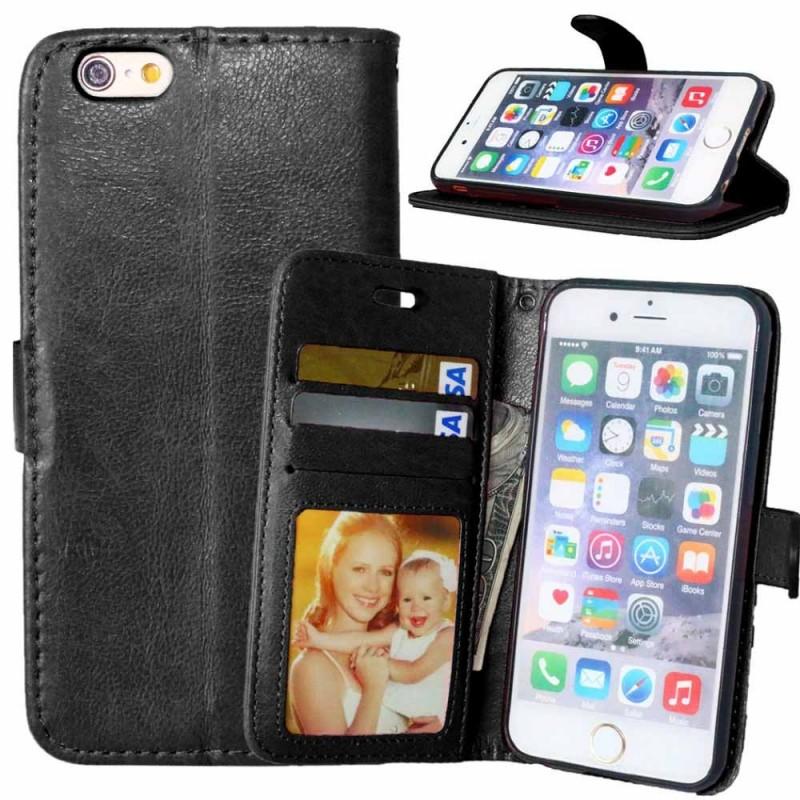 Mobilplånbok 3-kort iPhone 6, 6S