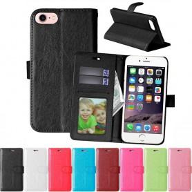 Mobilplånbok 3-kort iPhone 7 / 8 mobilskal fodral