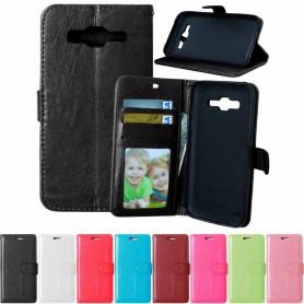Mobilplånbok 3-kort Samsung Galaxy J5 2015 (SM-J500F)