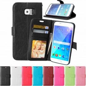 Mobilplånbok 3-kort Samsung Galaxy S6