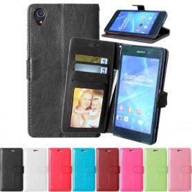 Mobilplånbok 3-kort Sony Xperia Z2
