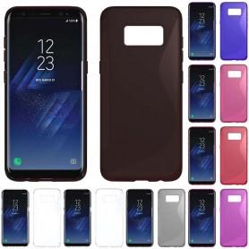 S Line silikon skal Samsung Galaxy S8 Plus (SM-G955F)