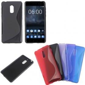 S Line silikon skal Nokia 6
