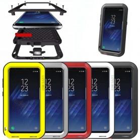 LOVE MEI Powerful Samsung Galaxy S8 Plus mobilskal metall