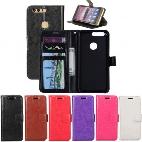 Mobilplånbok 3-kort Huawei Honor 8 (FRD-L09)