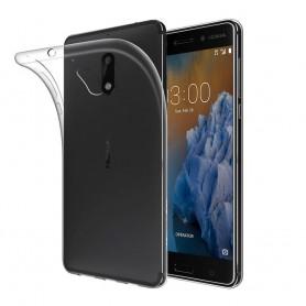 Nokia 3 silikon skal transparent