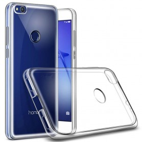 Huawei Honor 8 Lite/P8 Lite 2017 silikon skal transparent