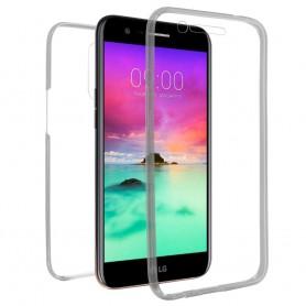 360 heltäckande silikon skal LG K10 2017