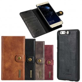 Mobilplånbok Magnetisk DG-Ming Huawei P10