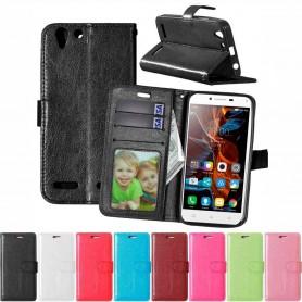 Mobilplånbok 3-kort Lenovo Vibe K5, K5 Plus