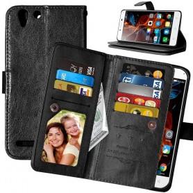 Mobilplånbok Dubbelflip Flexi 8-kort Lenovo Vibe K5, K5 Plus