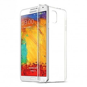 Galaxy Note 3 silikon skal transparent