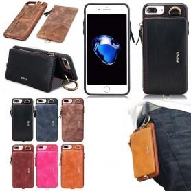 BRG skal 2i1 med avtagbar plånbok iPhone 7 Plus / 8 Plus - CaseOnline