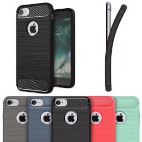 Borstat silikon TPU skal Apple iPhone 7/8 mobilskydd CaseOnline.se