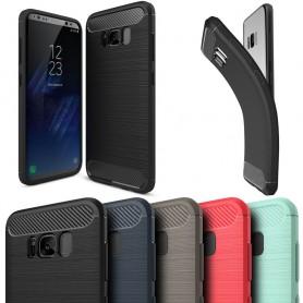 Borstat silikon TPU skal Samsung Galaxy S8, mobilskydd CaseOnline.se