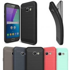 Borstat silikon TPU skal Samsung Galaxy A3 2017 SM-A320F CaseOnline.se