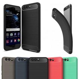Borstat silikon TPU skal Huawei P10 (VTR-L29) CaseOnline.se