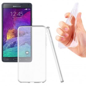 Samsung Galaxy Note 4 SM-N910F silikon skal transparent