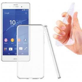 Sony Xperia Z2 Silikon skal Transparent