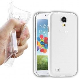 Galaxy S4 silikon skal transparent