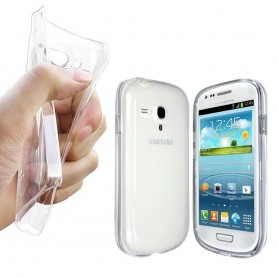 Galaxy S3 Mini silikon skal transparent