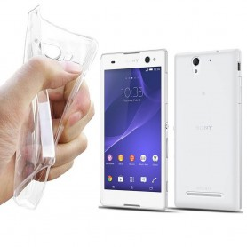 Sony Xperia C3 Silikon Transparent