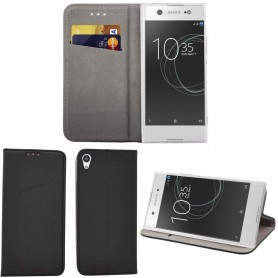 Moozy Smart Magnet FlipCase Sony Xperia XA1 Ultra G3221 mobil skal skydd CaseOnline.se