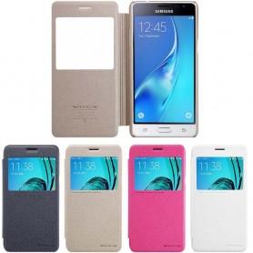 FlipCover Nillkin Sparkle Samsung Galaxy J3 2016 SM-J310F mobil skal CaseOnline.se