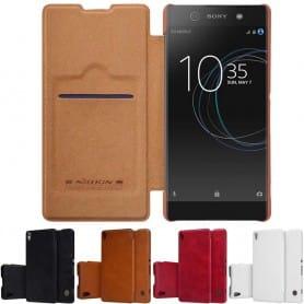 Nillkin Qin Series FlipCover Sony Xperia XA1 Ultra G3211 mobil skal CaseOnline