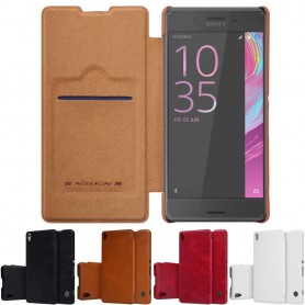 Nillkin Qin Series FlipCover Sony Xperia X Performance F8131 mobilskal caseonline