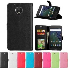 Mobilplånbok 3-kort Motorola/Lenovo Moto G5