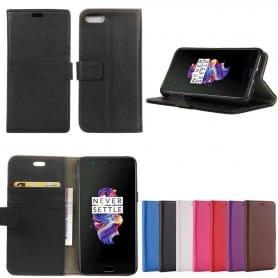 Mobilplånbok 2-kort OnePlus 5 fodral skydd caseonline